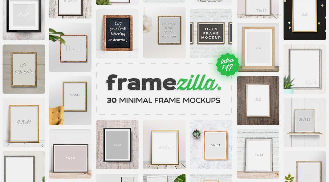 Framezilla Frame Mockups.