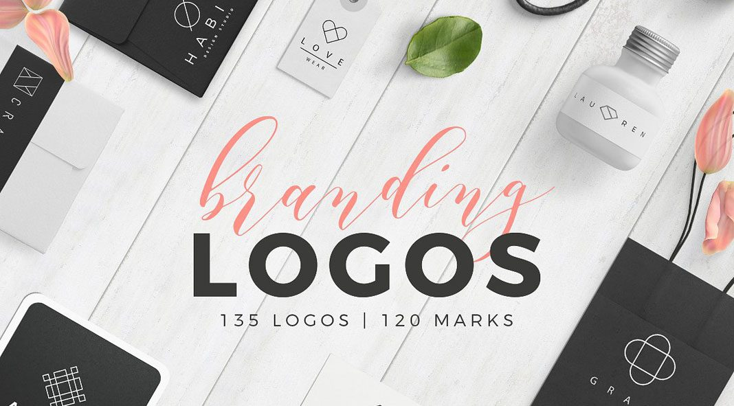 Line based logo templates by Davide Bassu.