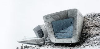 Messner Museum Kronplatz photographed by Tom Blachford