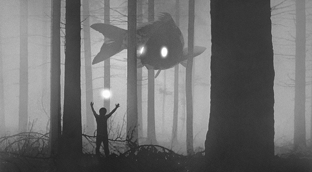 Mysterious dark illustrations by Dawid Planeta.