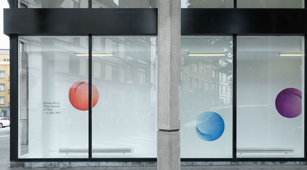 Nicolas Party - Three Seasons at Xavier Hufkens gallery.
