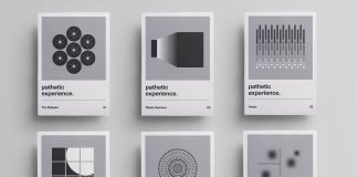 Pathetic Experience - minimalist pre-release album posters by Dhimas Zoso