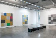 Peter Halley at Gary Tatintsian Gallery.