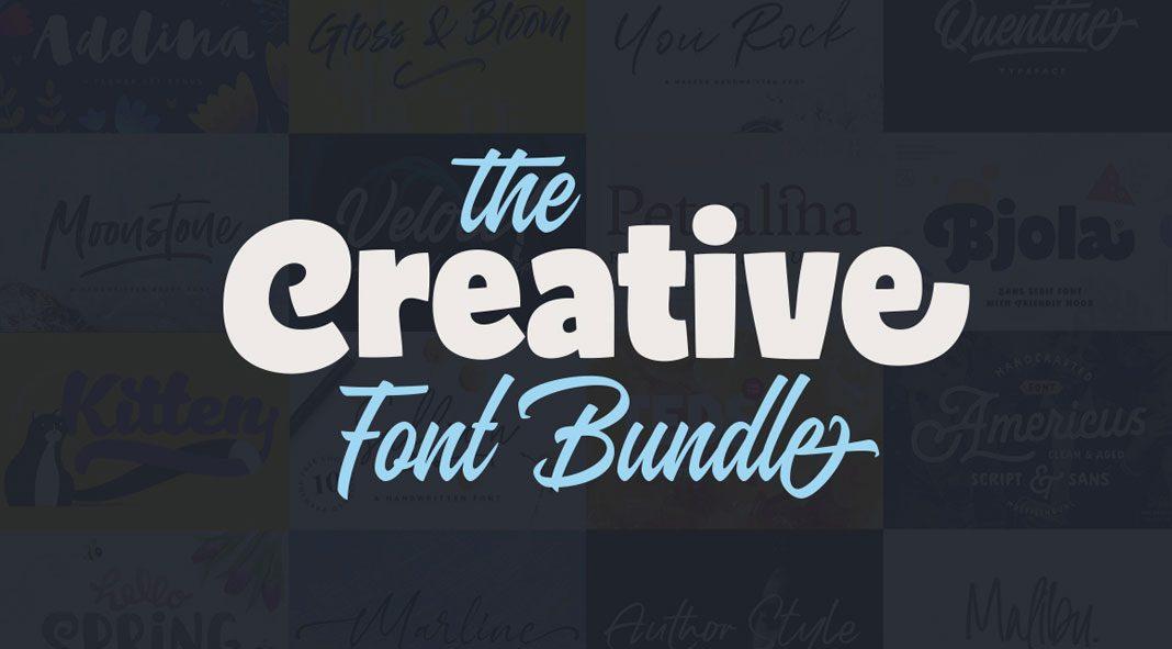 The Creative Font Bundle
