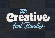 The Creative Font Bundle