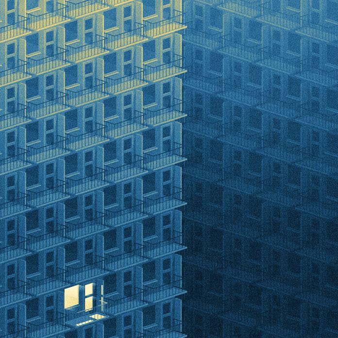 Urban life.