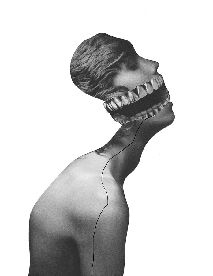 Jesse Draxler, partially disturbing and unique art.
