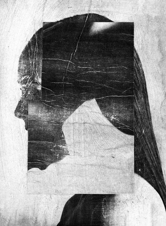 Jesse Draxler, faceless portraits
