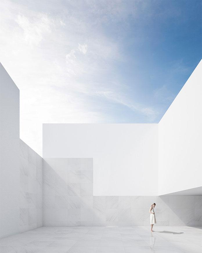 The dwelling is bridging the gap between indoor and outdoor living.