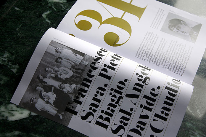 Andrew Colin Beck design, sophisticated typography and layout.