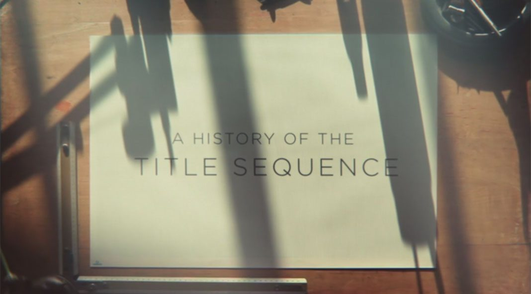 A History Of The Title Sequence by Jurjen Versteeg of studio From Form.