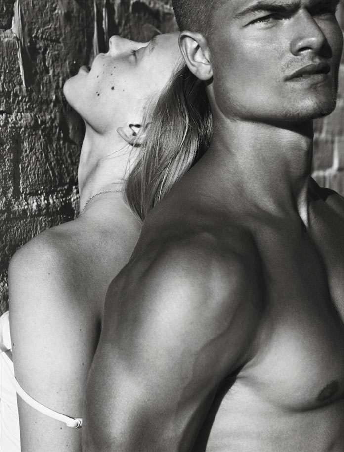 Adian and Katty from Wilhelmina shot by Lucas Passmore