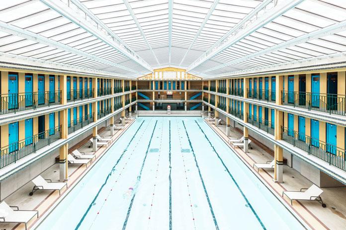 An old swimming pool.