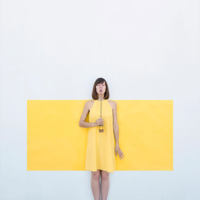 Anna Devis and Daniel Rueda, yellow match