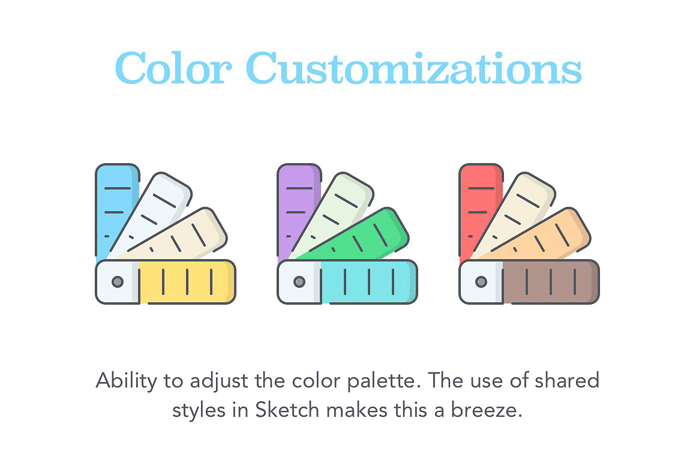 Color customization.