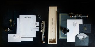 Fratelli Patricola - Italian clarinets rebrand design by Andrew Colin Beck.