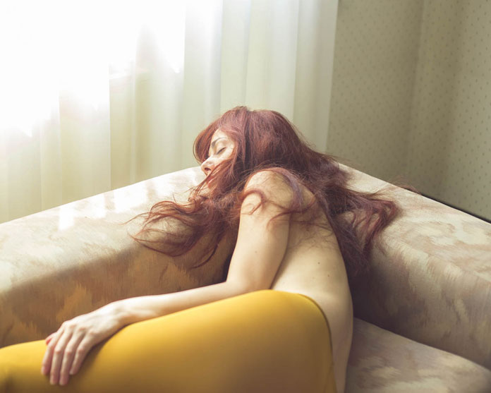 Giuseppe Palmisano Photography, Sleeping beauty in yellow tights
