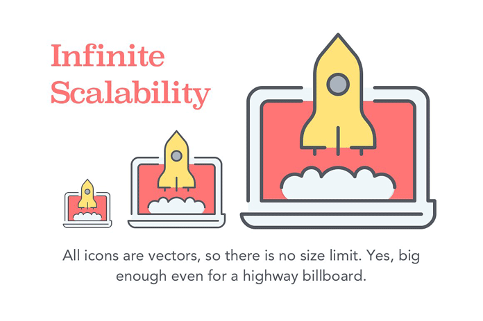 Infinite scalability.