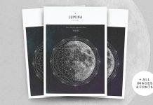 LUMINA magazine template