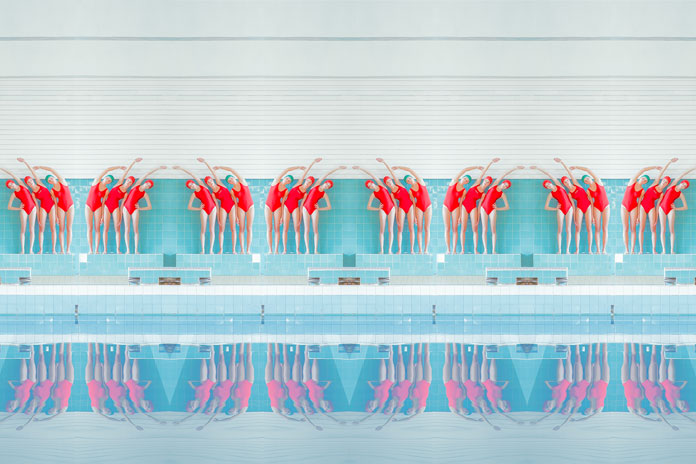 Maria Svarbova Photography, creating a repeating pattern