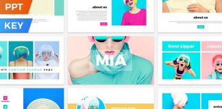 Mia Presentation Template for Powerpoint and Keynote
