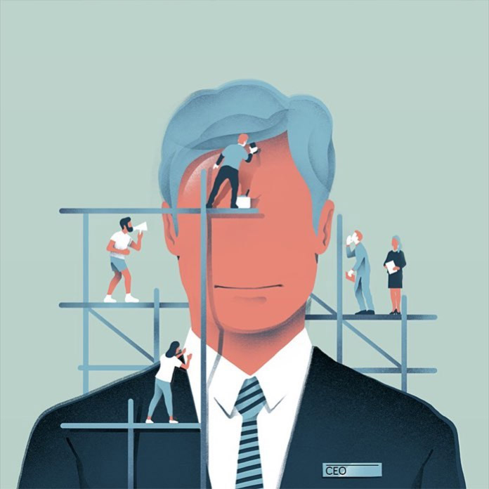 New piece for Lufthansa Magazine. The advantages of being a manager.