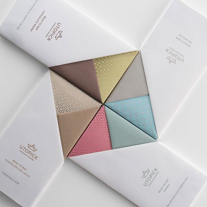 Origami style packaging