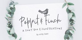 Poppit & Finch by Nicky Laatz.