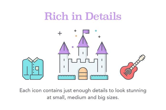 Rich in details.