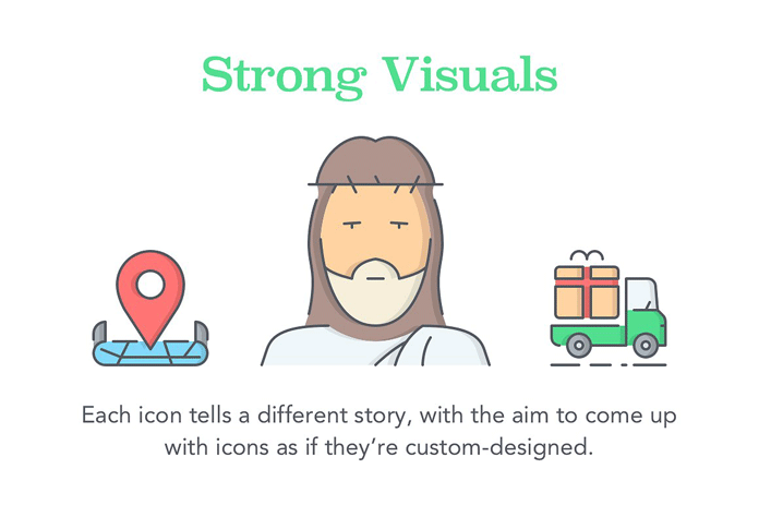Strong visuals.