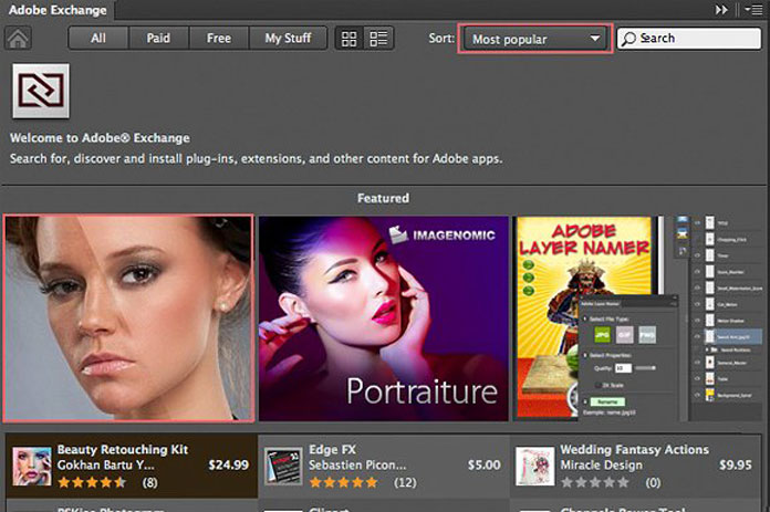 The plugin is highly rated on Adobe Exchange