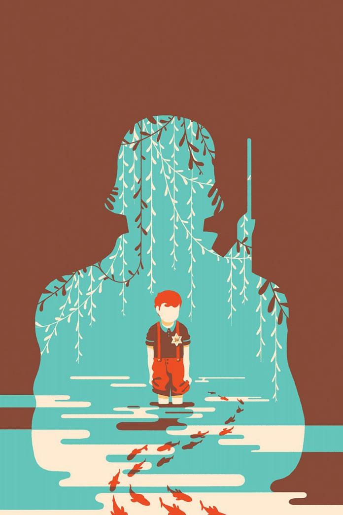 Tom Haugomat, Book cover illustration.