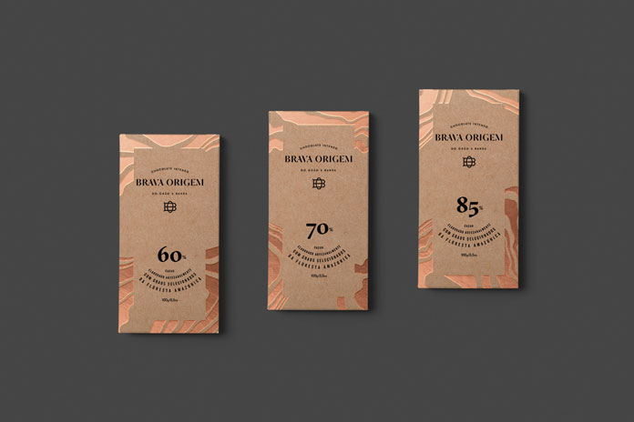 Brava Origem – brand and packaging design by Vinicius Andrade.