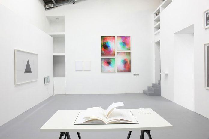 Exhibition view.