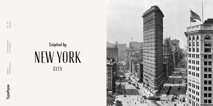 Inspired by New York City.
