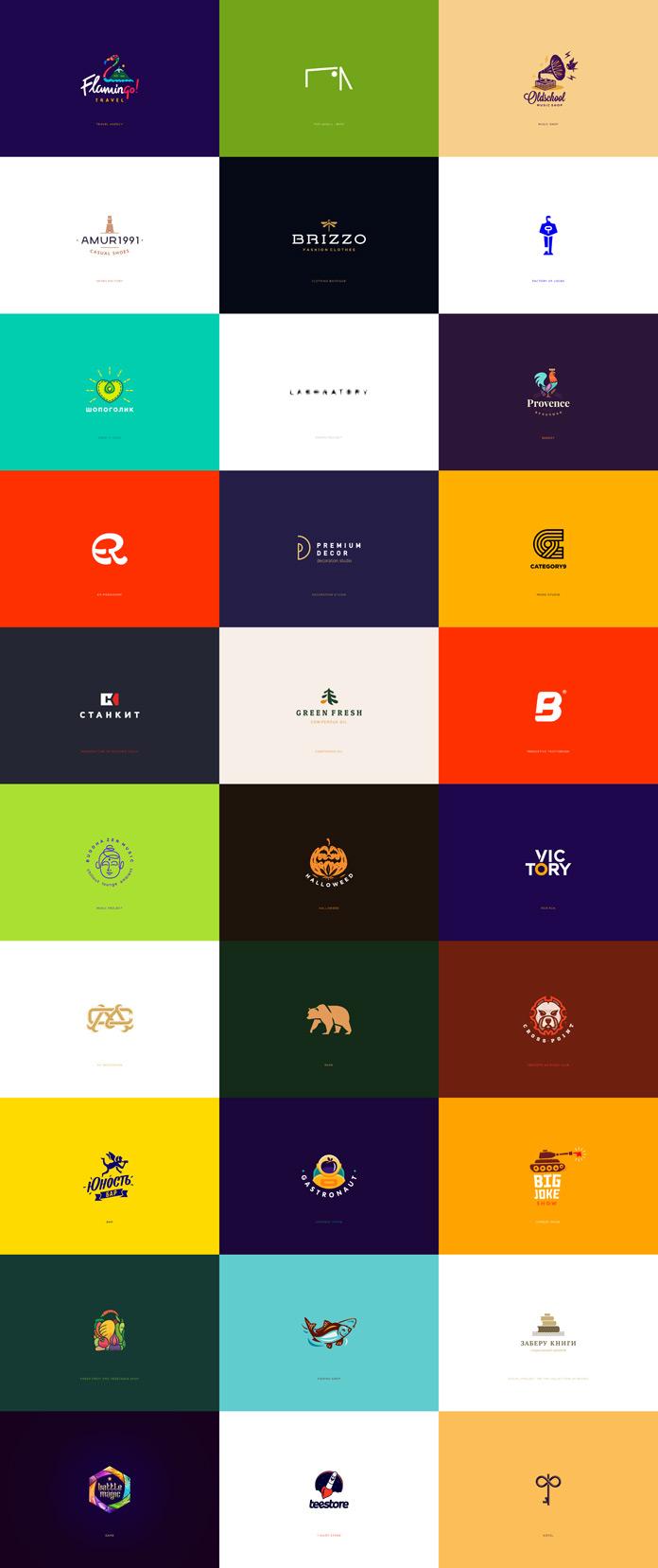 30 Logos and Marks by Graphic Designer Ilya Shapko