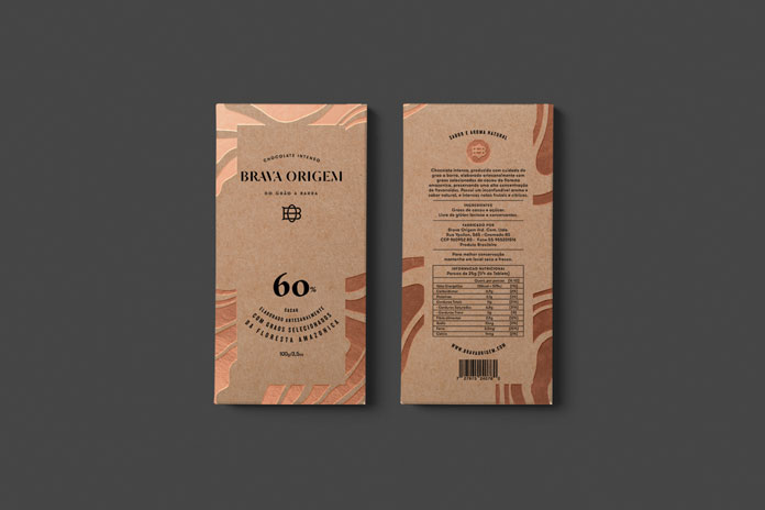 Chocolate packaging.