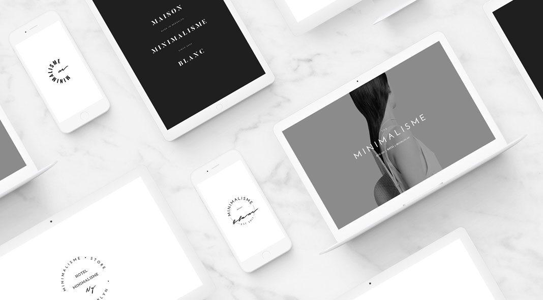 Minimalist Fashion Brand Logos.