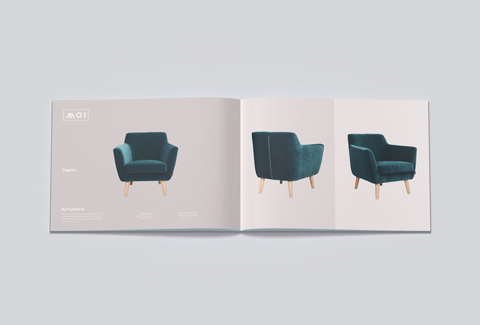 Scandinavian furniture catalog.
