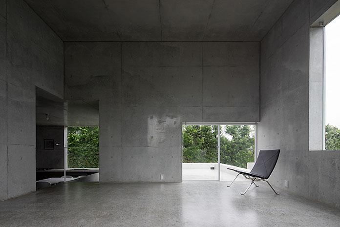 Architecture and interior design reduced to the essentials.