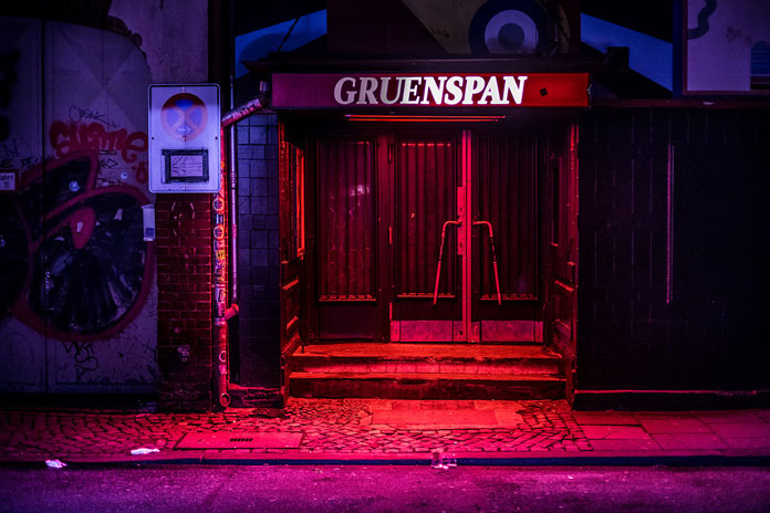 After hours in Hamburg by Mark Broyer, Gruenspan music club