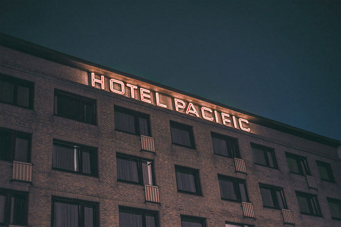 After hours in Hamburg by Mark Broyer, Hotel Pacific