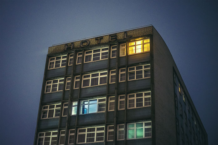After hours in Hamburg by Mark Broyer, There is still some light on