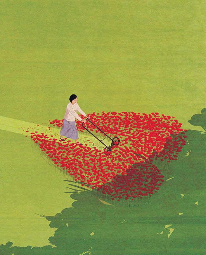 Andrea Ucini Illustration, End of Love