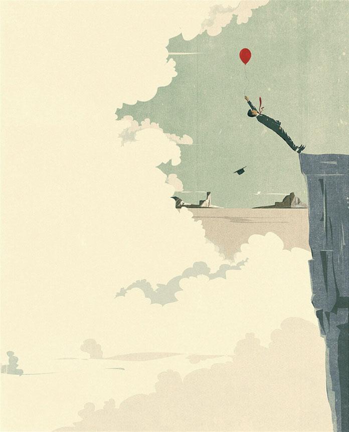 Andrea Ucini Illustration, Go Down