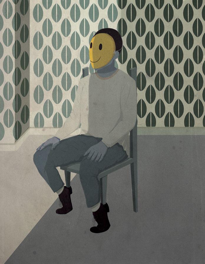 Andrea Ucini Illustration, Selfie