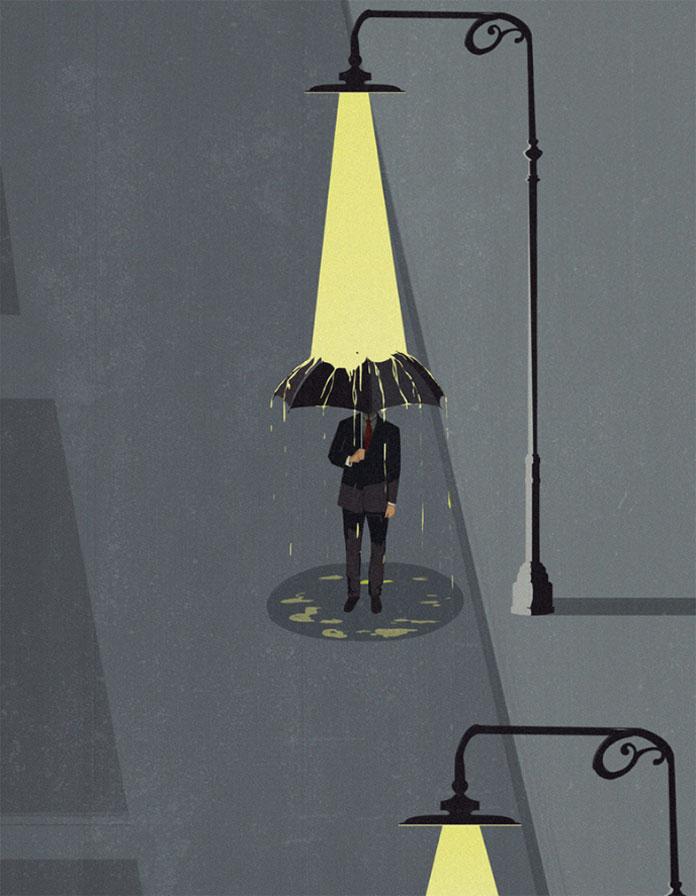 Andrea Ucini Illustration, Silvio Berlusconi