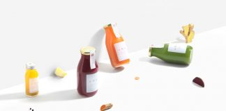 GRO Juice – organic cold-pressed juices – branding by Glasyr.