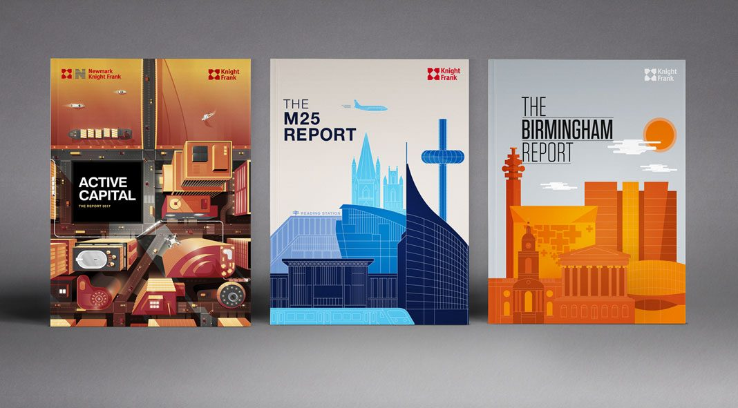 Knight Frank Report Collection 2017 by Surgery & Redcow.