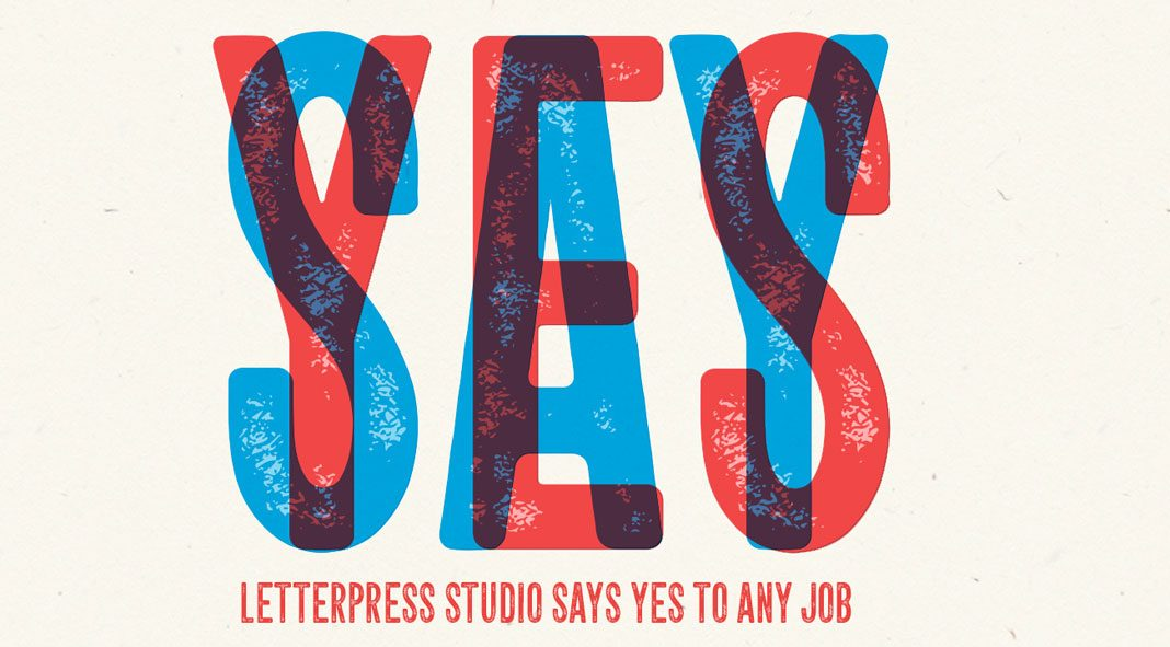 Letterpress fonts and graphics from Fenotype.
